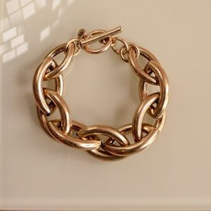 JENNY BIRD SLOANE CHUNKY LINKS BRACELET - GOLD